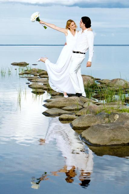 Pruutpaar Ojakol
